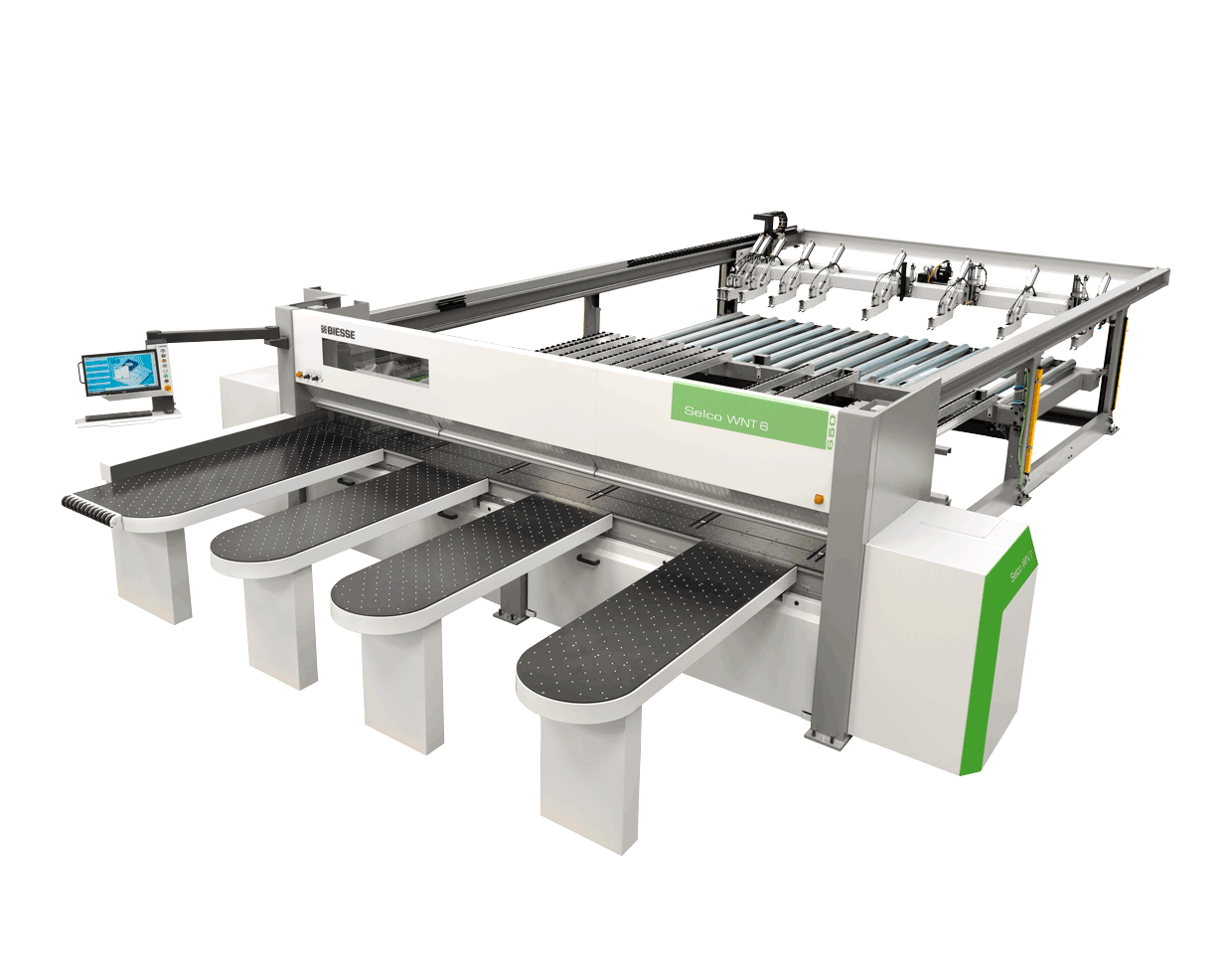 Numeric controlled panel sizing centre SELCO WN 6 | wood Processing